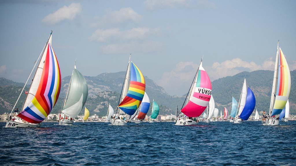 Фестиваль яхт в Мармарисе, Турция