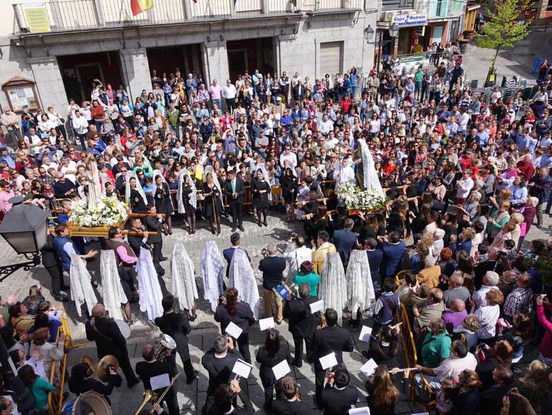 Праздники в Серседилья, Испания