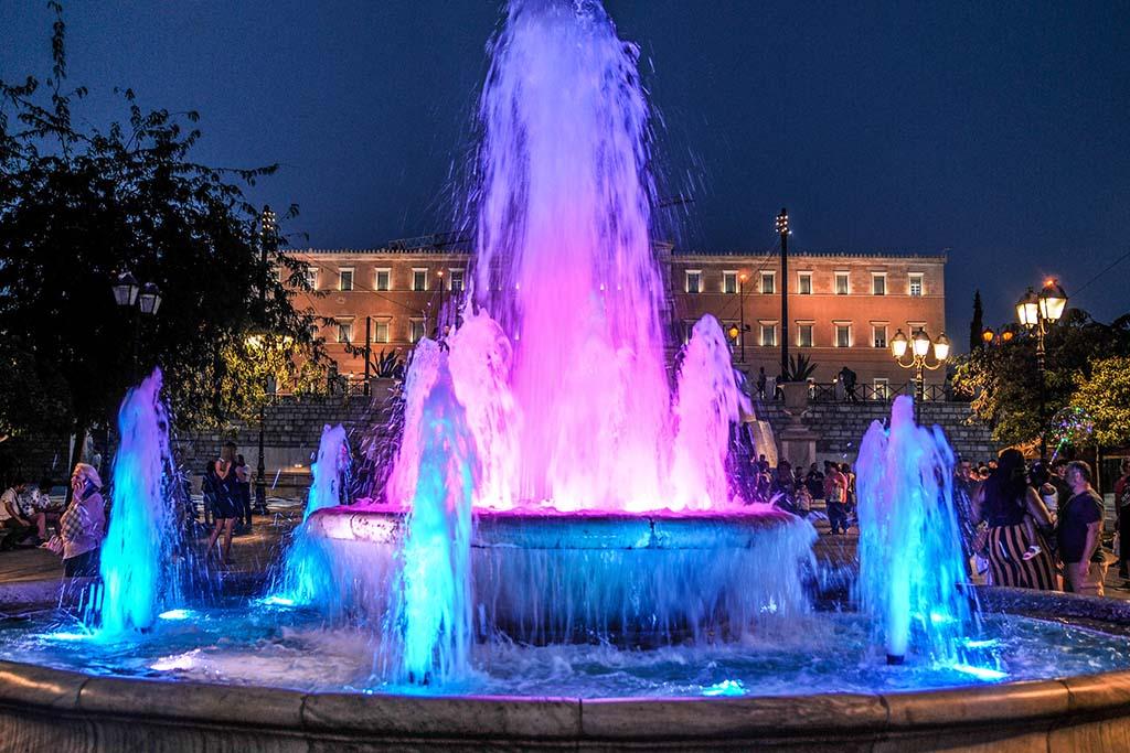 Площадь Синтагма, фото