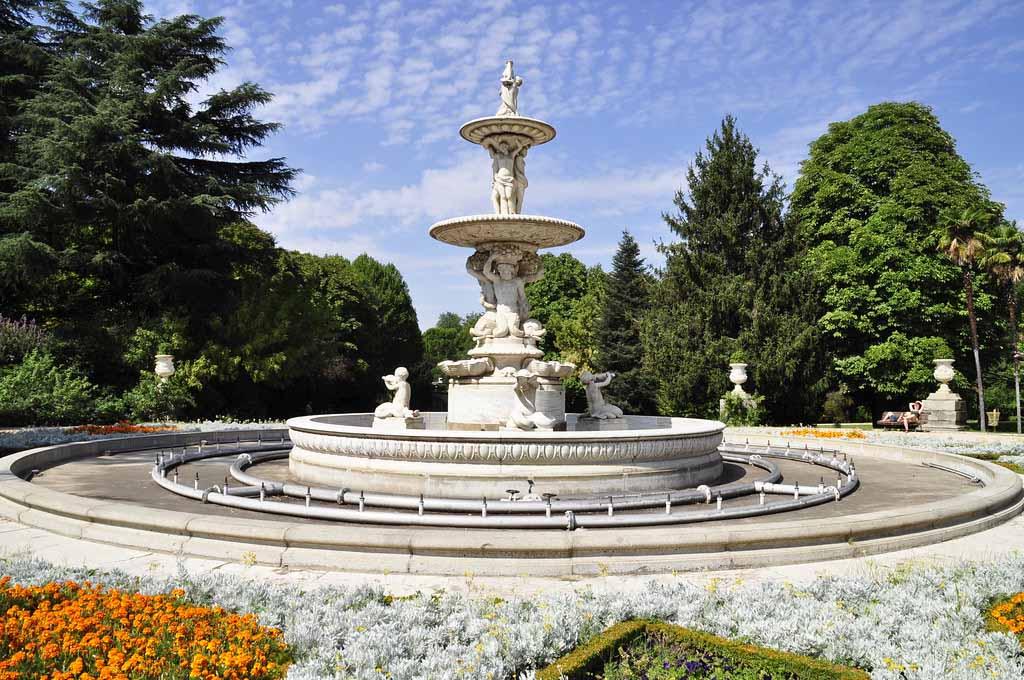 История садов Сабатини, Мадрид