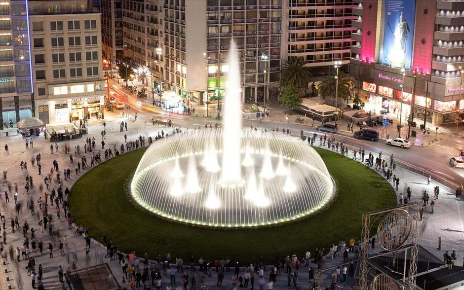 Площадь Омонии, фото