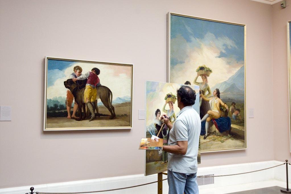 Какие художники представлены в музее Прадо в Мадриде