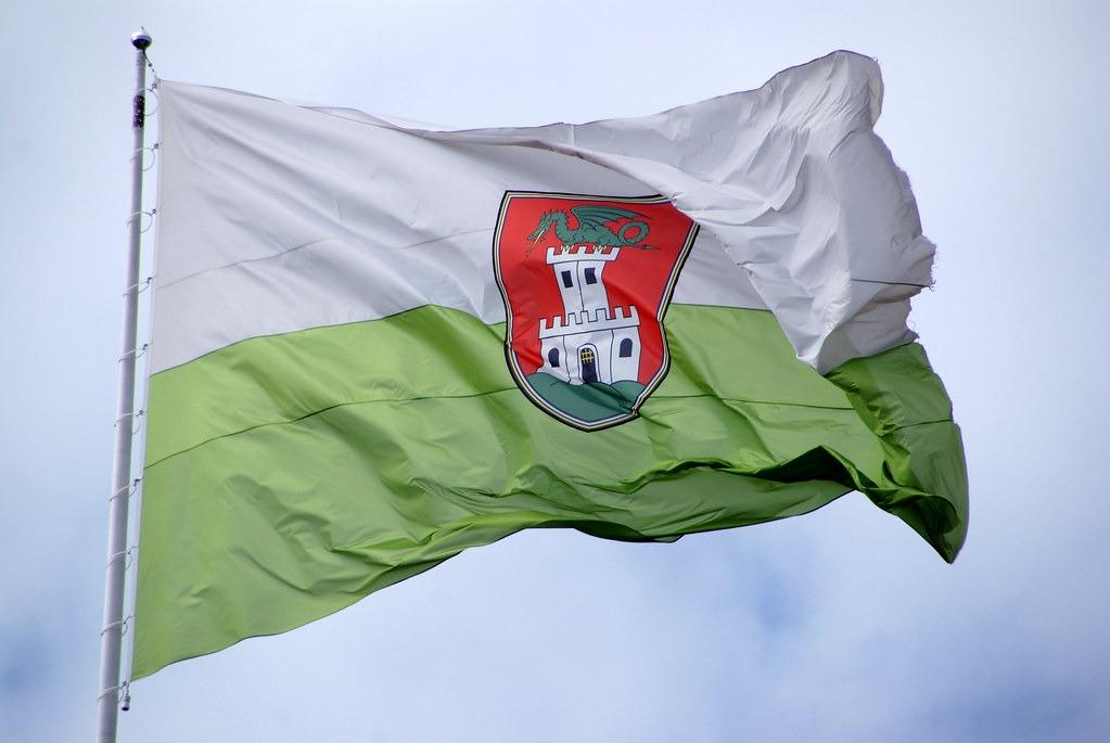 Замок на гербе Любляны