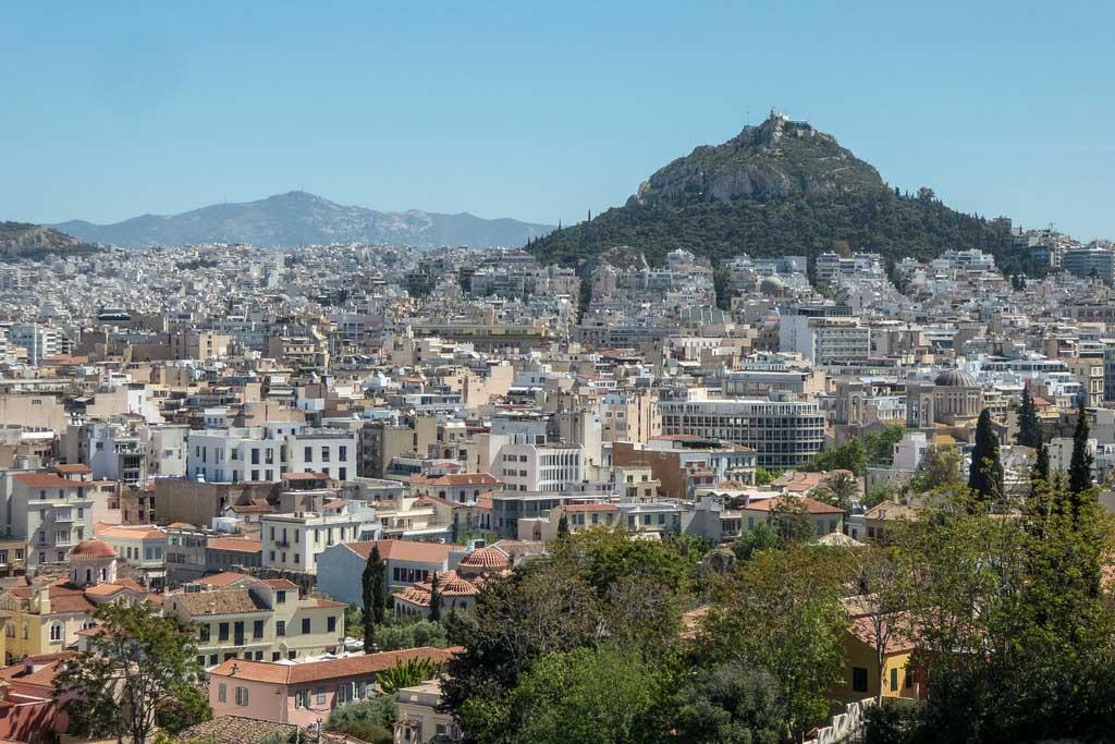 Волчья Гора в Афинах