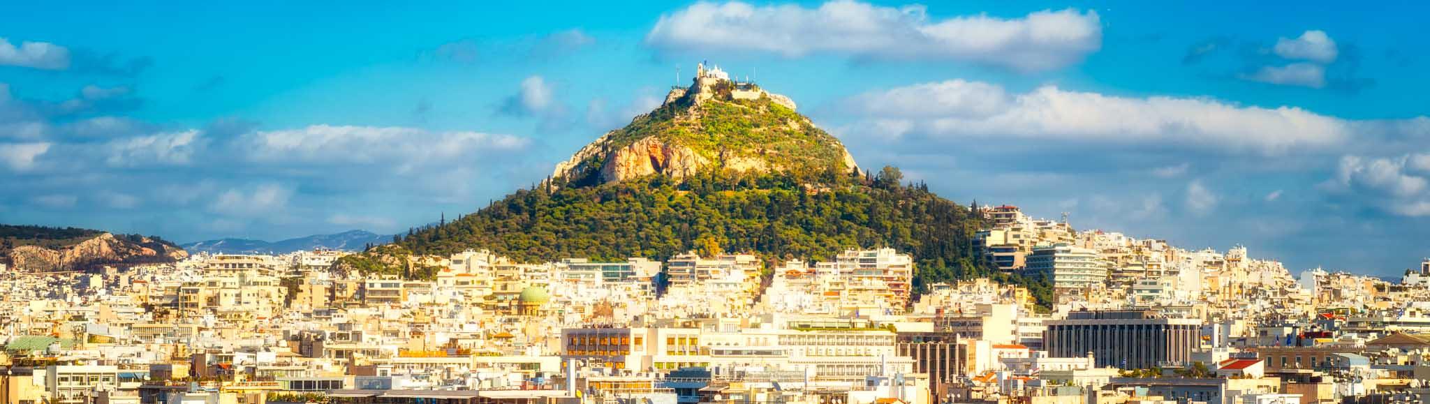 Гора Ликавитос в Афинах