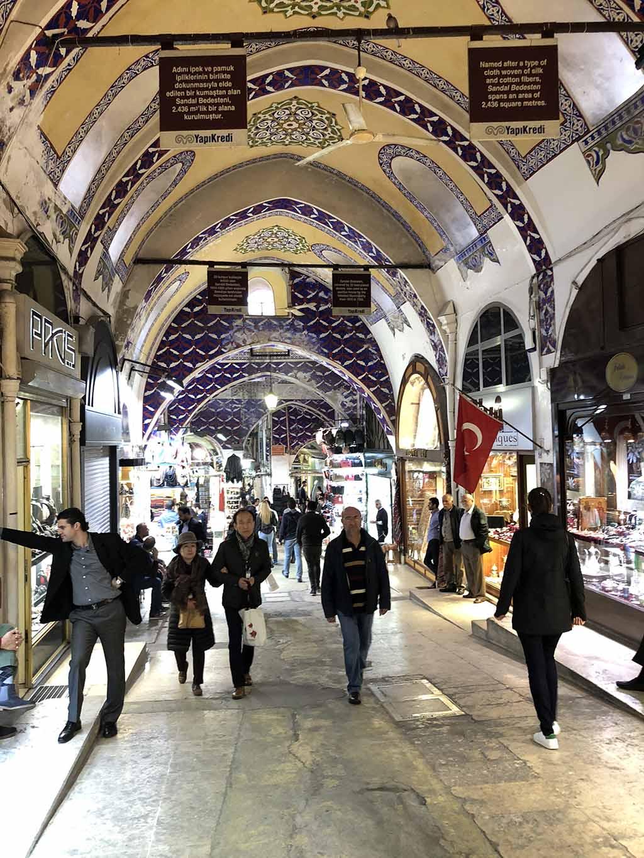 Гранд Базар вСтамбуле