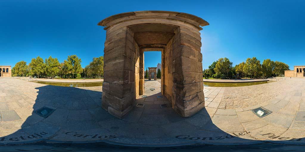 Мадрид, Храм Дебод