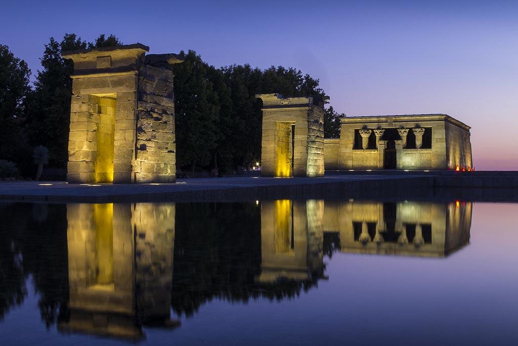 Мадрид, храм  Темпло Дебод