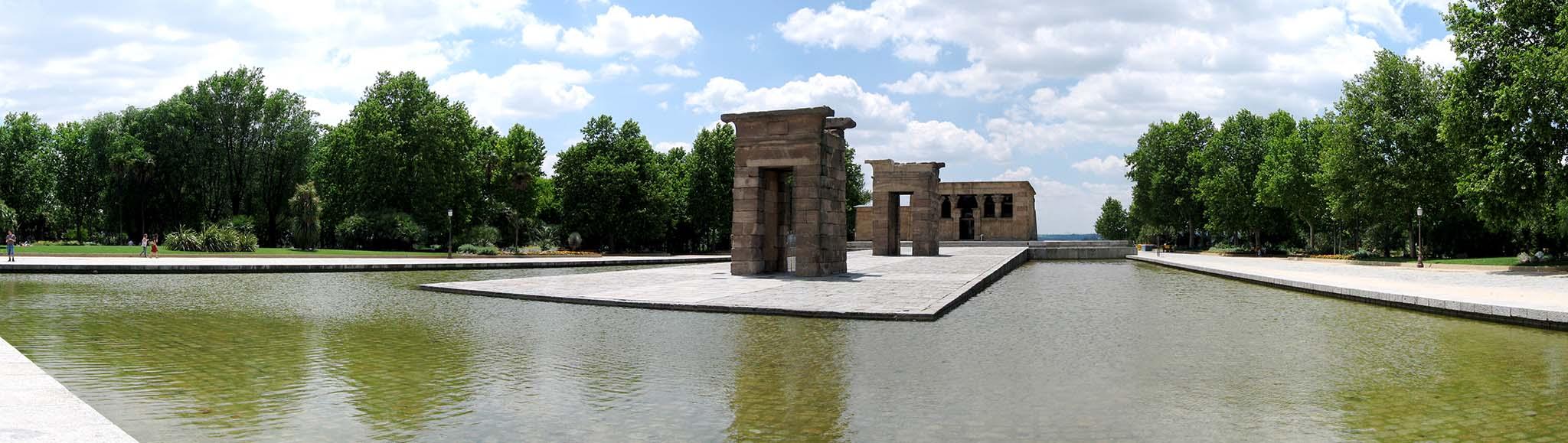 Храм Дебод — достопримечательность Мадрида