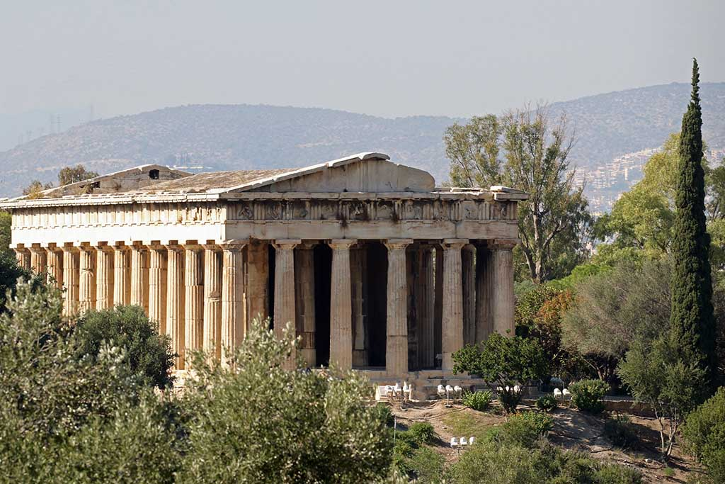 Храм Гефеста — достопримечательности Афин