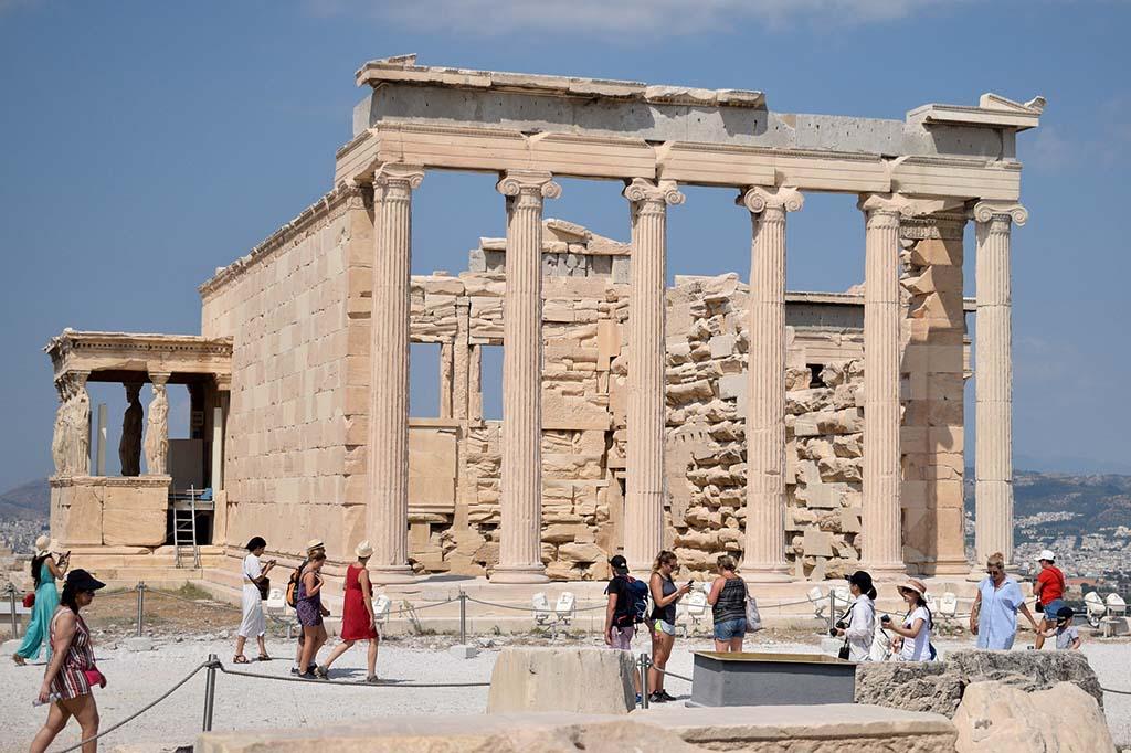 Когда посетить храм Эрехтейон, Афины
