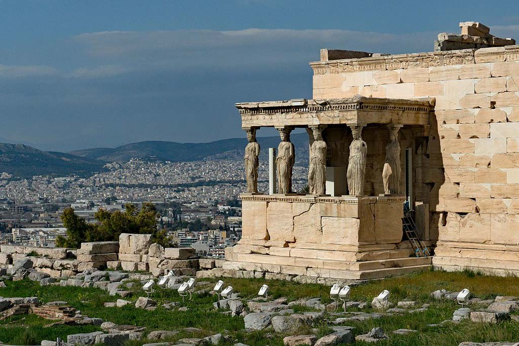 Храм Эрехтеон, Акрополь. Афины