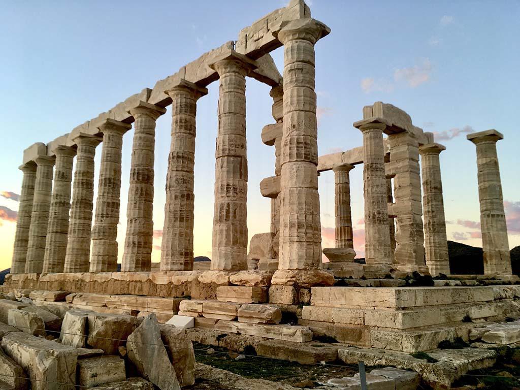 Храм Посейдона. фото