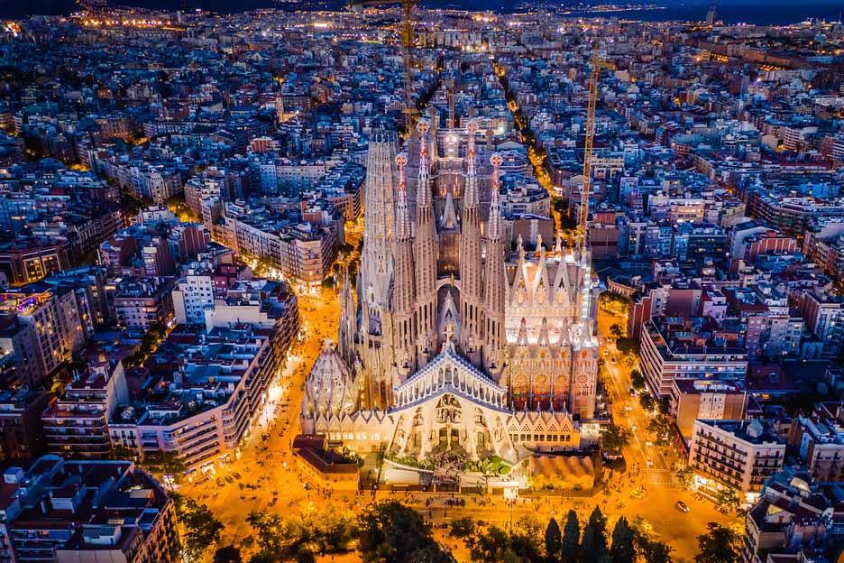 Храм Sagrada Familia, Барселона