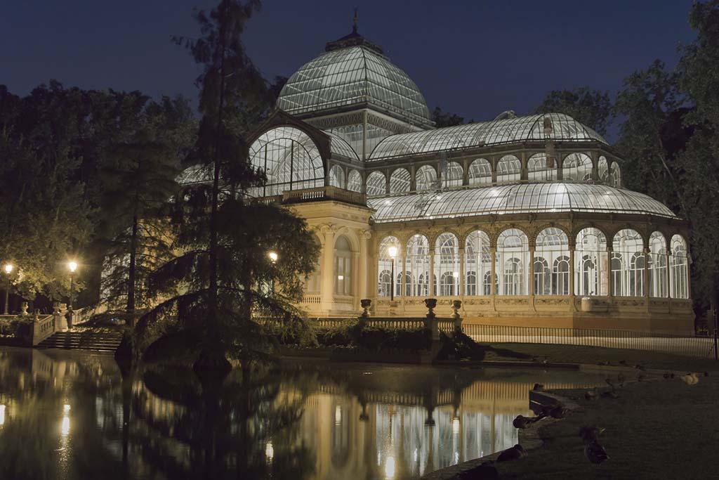 Стеклянный дворец в Мадриде