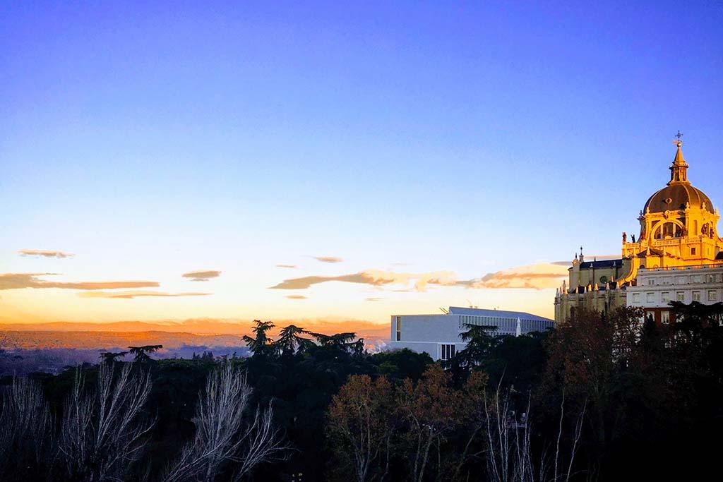 Погода в Мадриде в январе