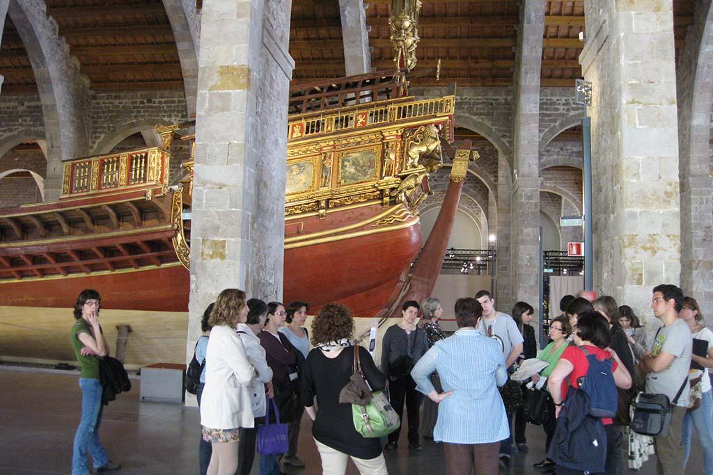 Экскурсии в морском музее в Барселоне