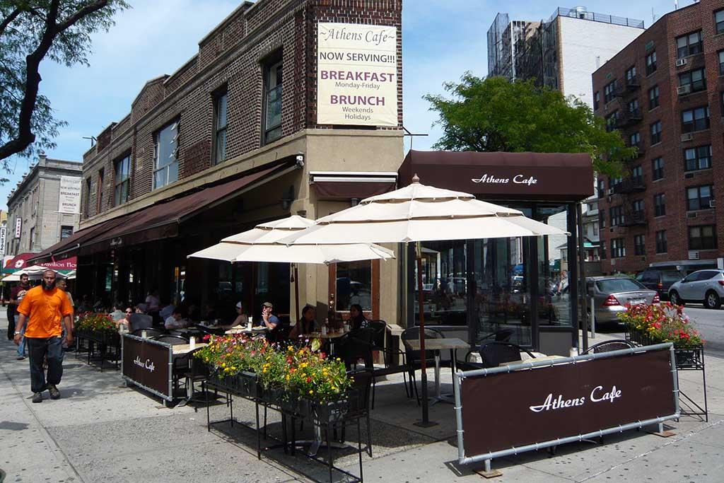 Кафе в Афинах, Греция
