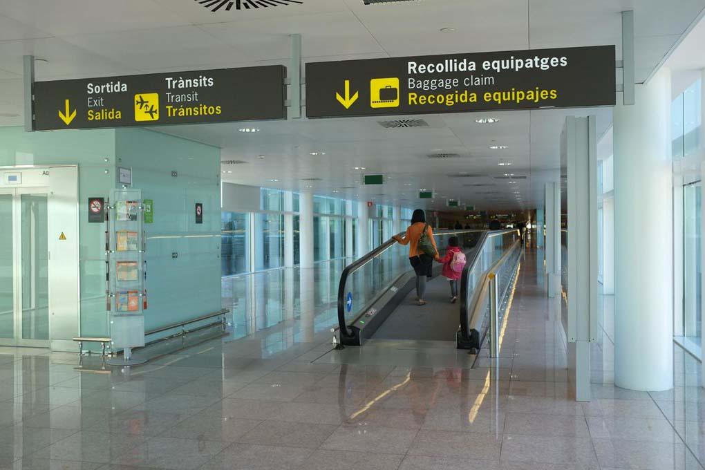 Камеры хранения в аэропорту Барселоны