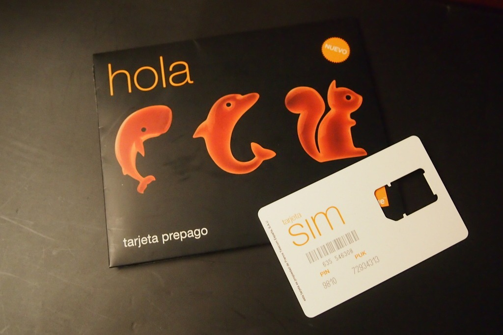 Интернет в Испании — карта Orange
