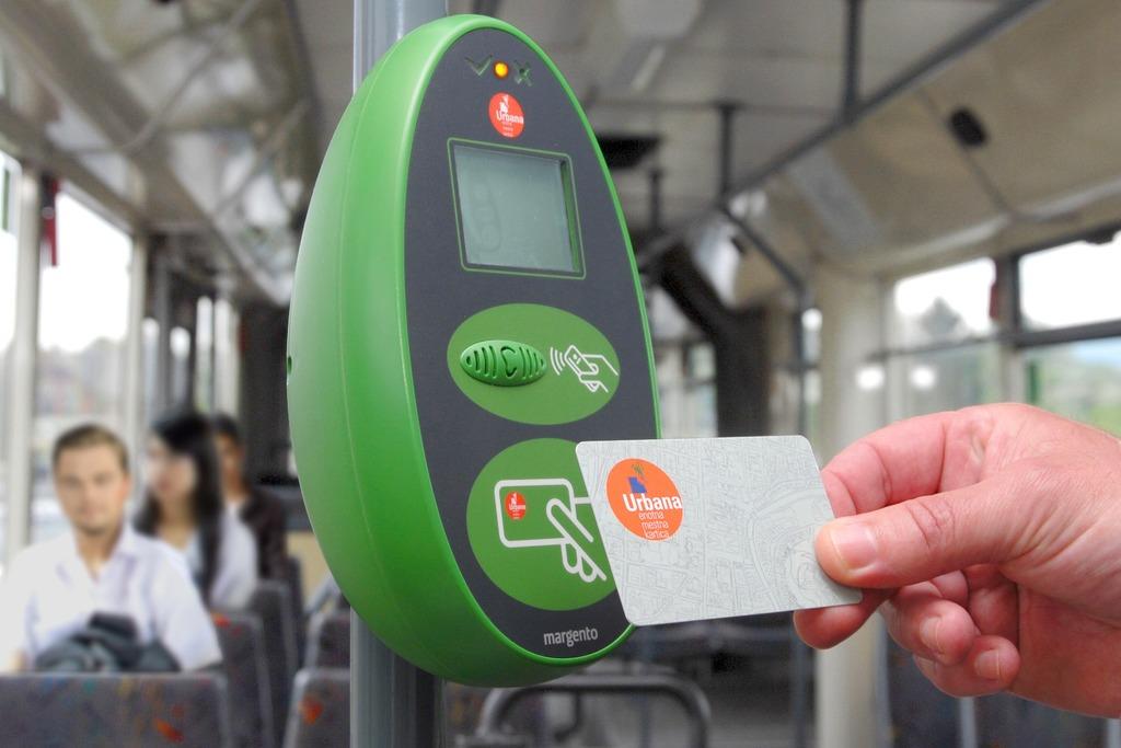 Проезд в общественном транспорте Любляны