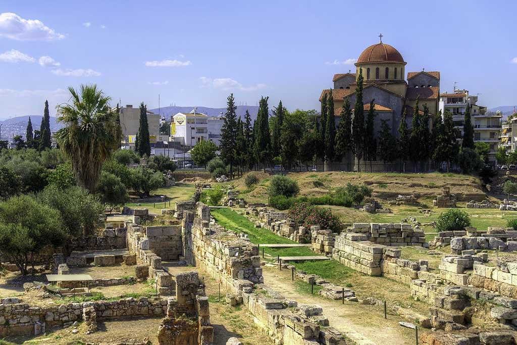 Музей и кладбище Керамикос в Афинах
