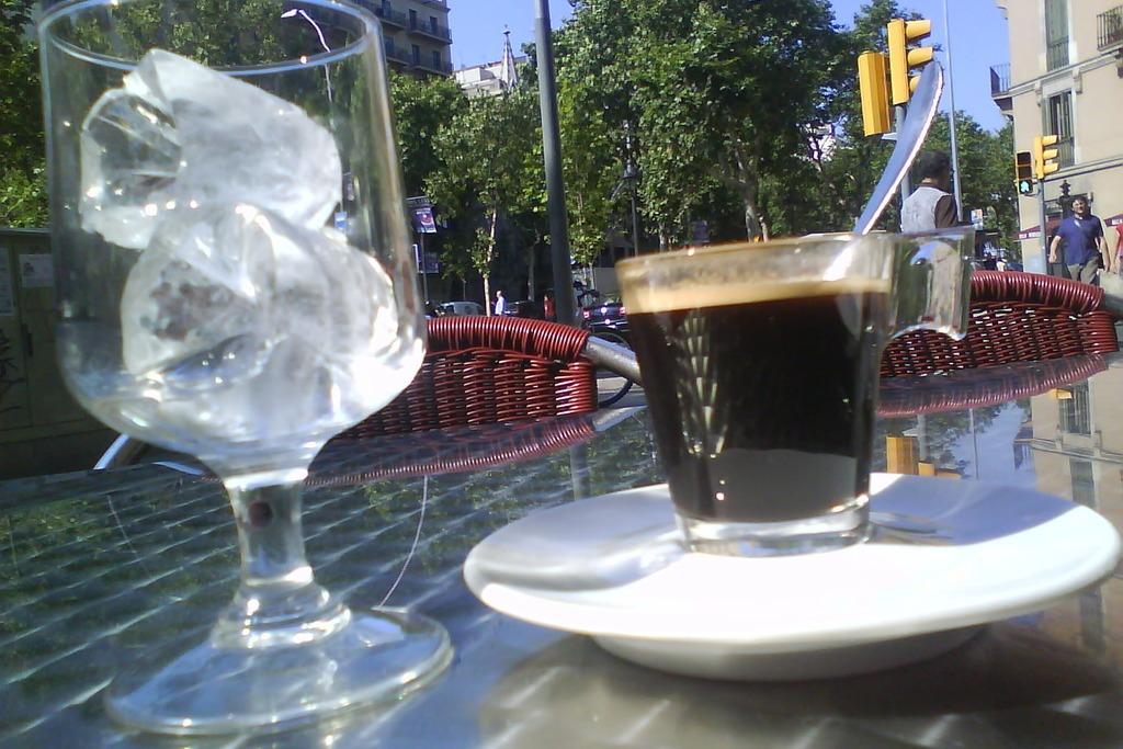 Кофе в Испании