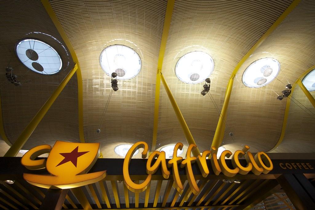 Где поесть в аэропорту MAD Мадрид