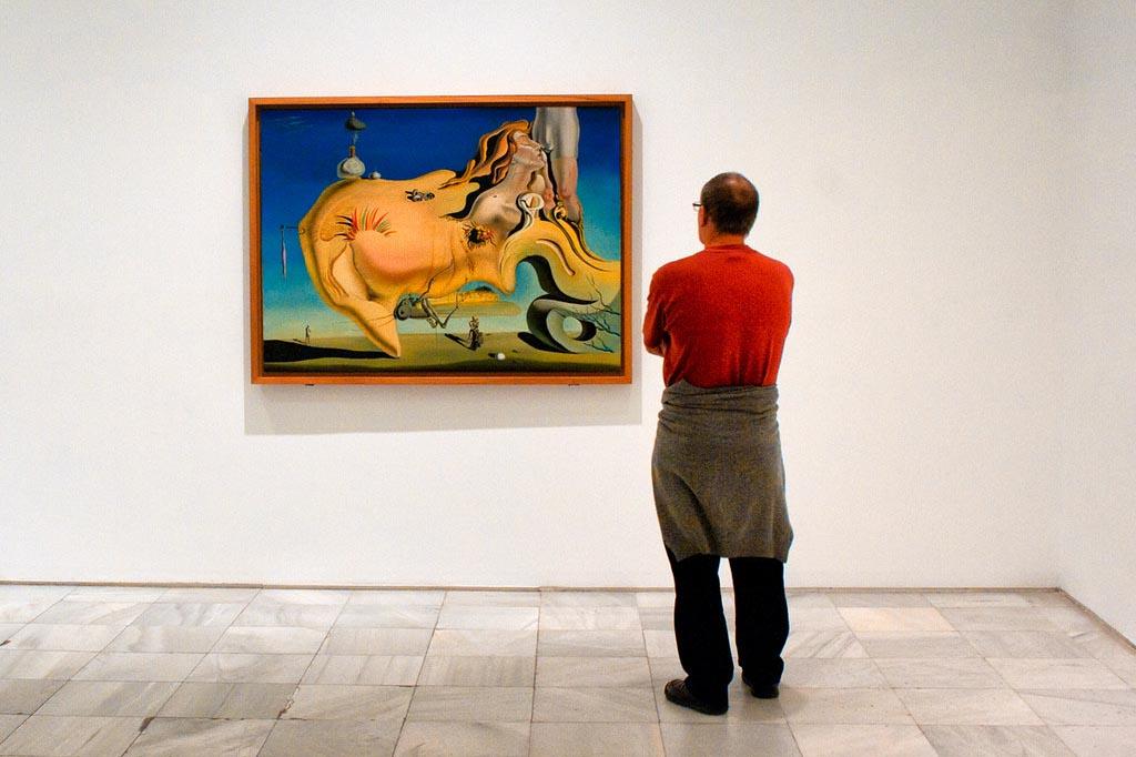 Коллекция «El gran masturbador» Дали в Музее Софии, Мадрид