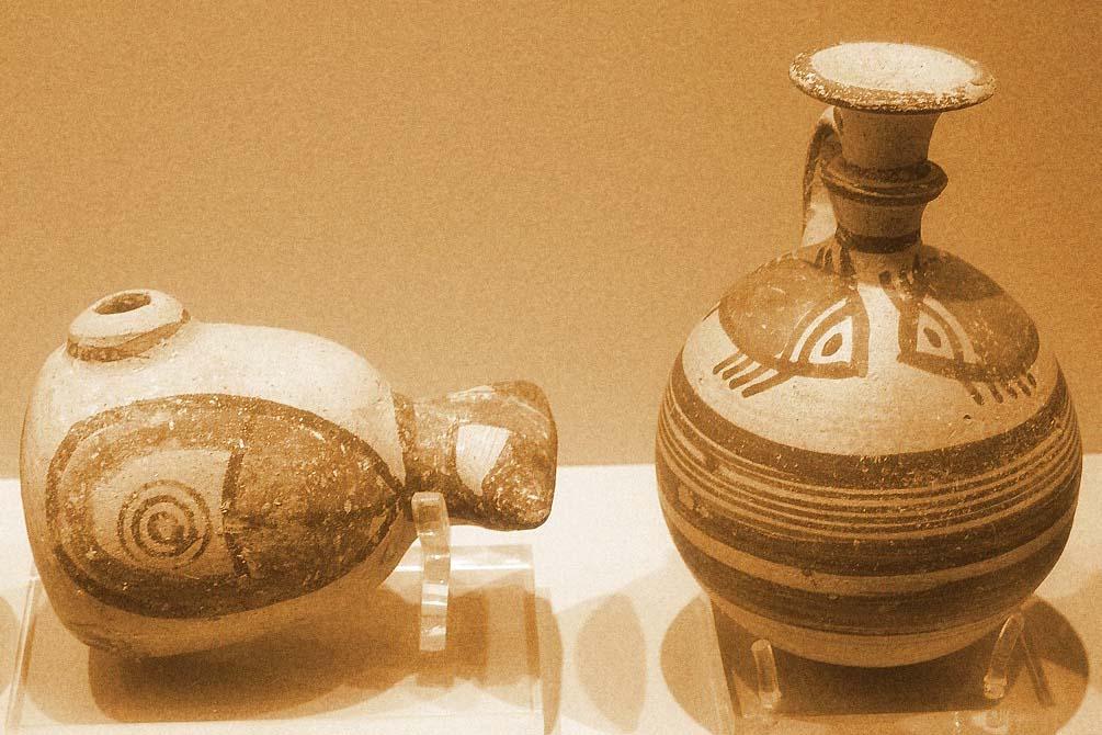 Коллекция Thanos Zintilis в музее кикладского искусства, Афины