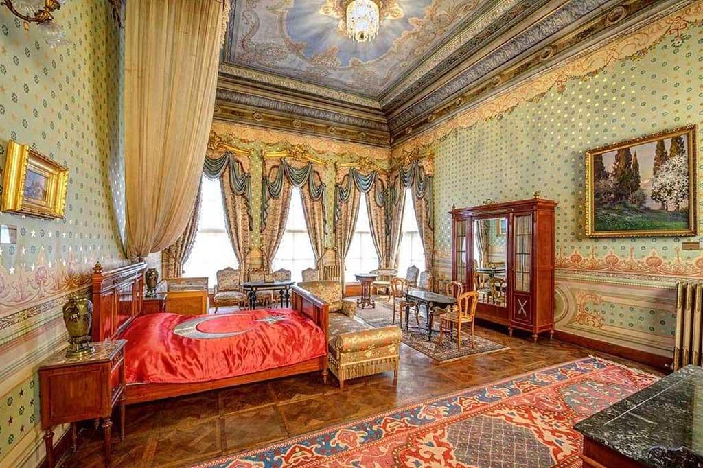 Комната Ататюрка в музее, Стамбул