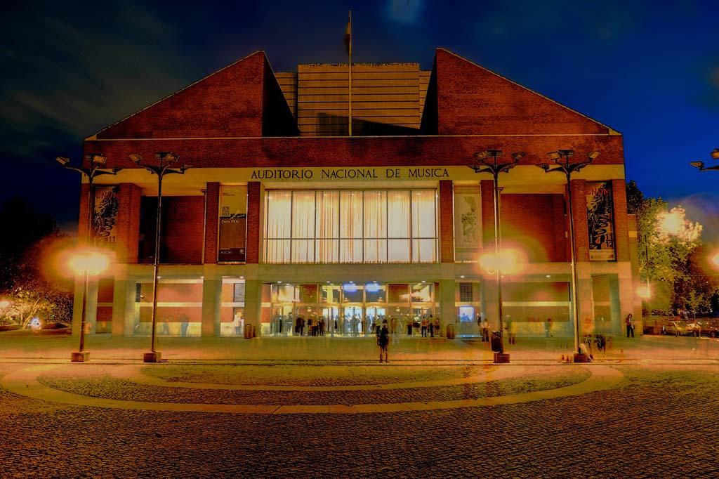 Как добраться до Концертного зала Аудиториум в Мадриде