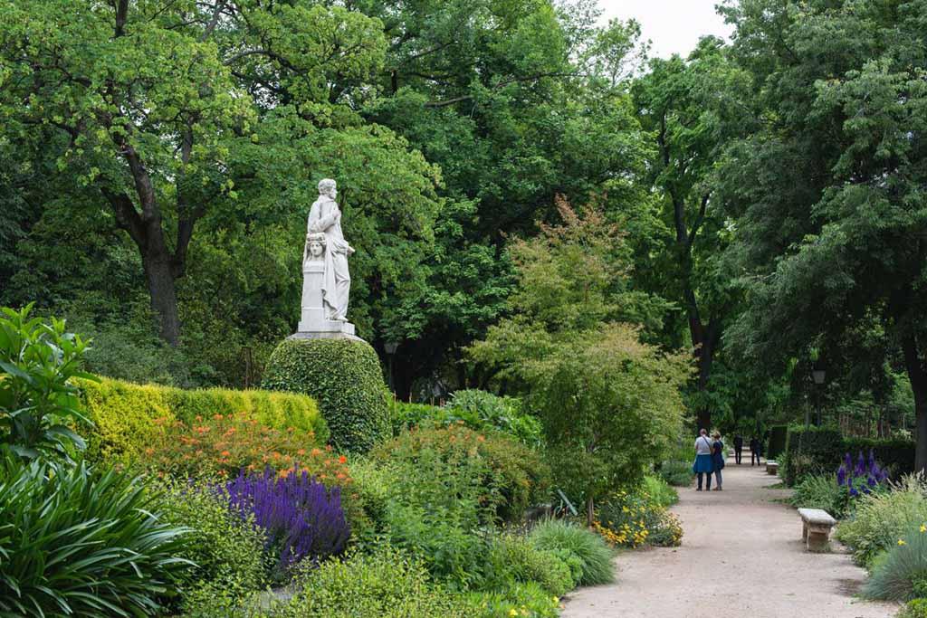 Королевский ботанический сад — достопримечательность Мадрида