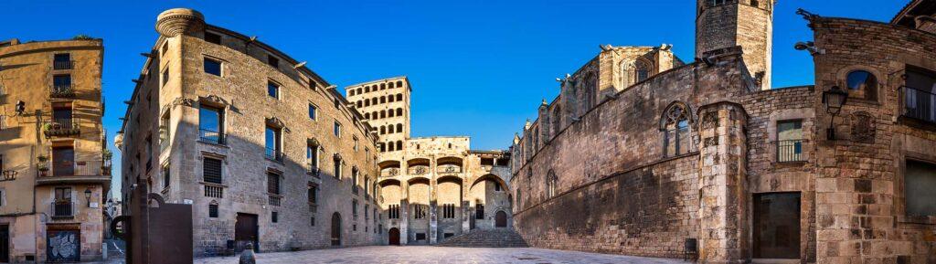 Большой королевский дворец Палау Реал Майор — Барселона
