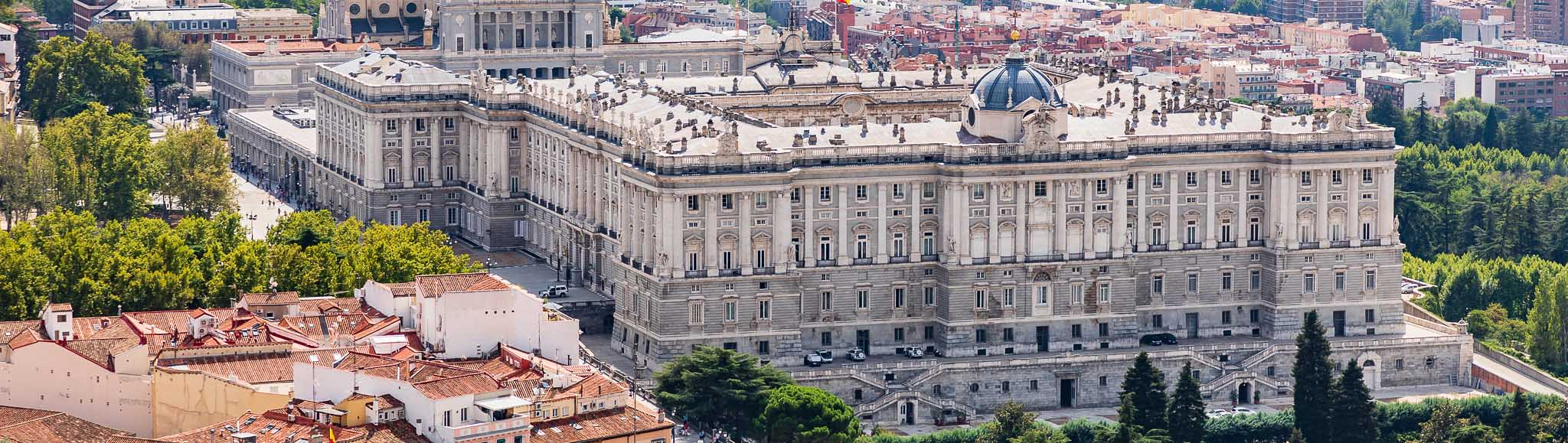 Королевский дворец — достопримечательность Мадрида