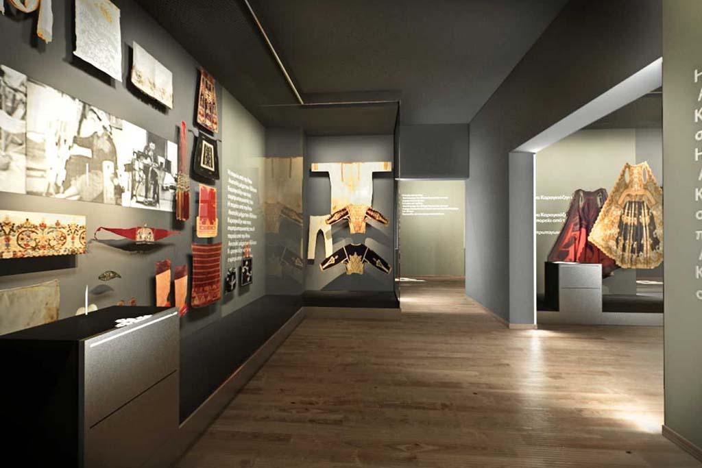 Музей греческого народного искусства в Афинах