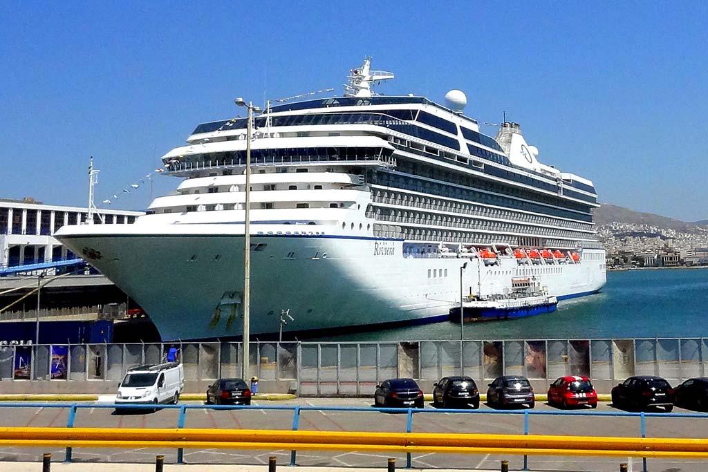 Круизный порт Пирей, Афины