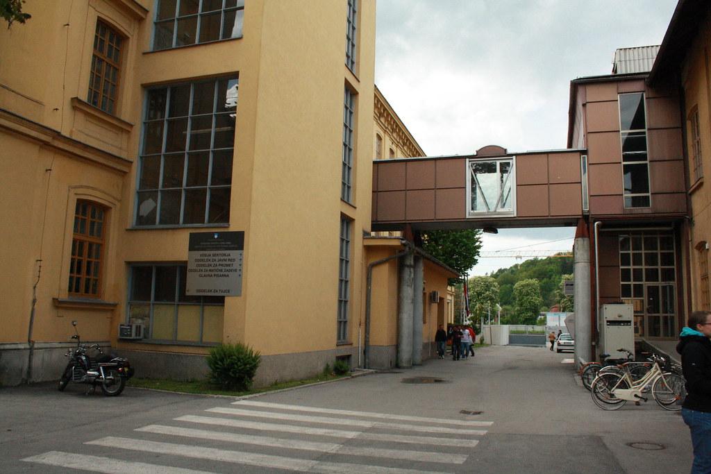 Музей Табака и Галерея 001 в Любляне