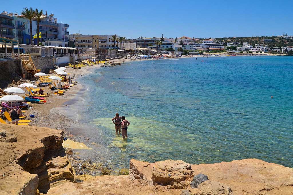 Тихий отдых на Коккини Хани, Крит
