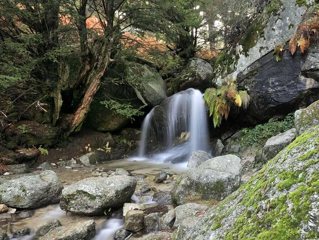 Серседилья, водопад Немецкий душ