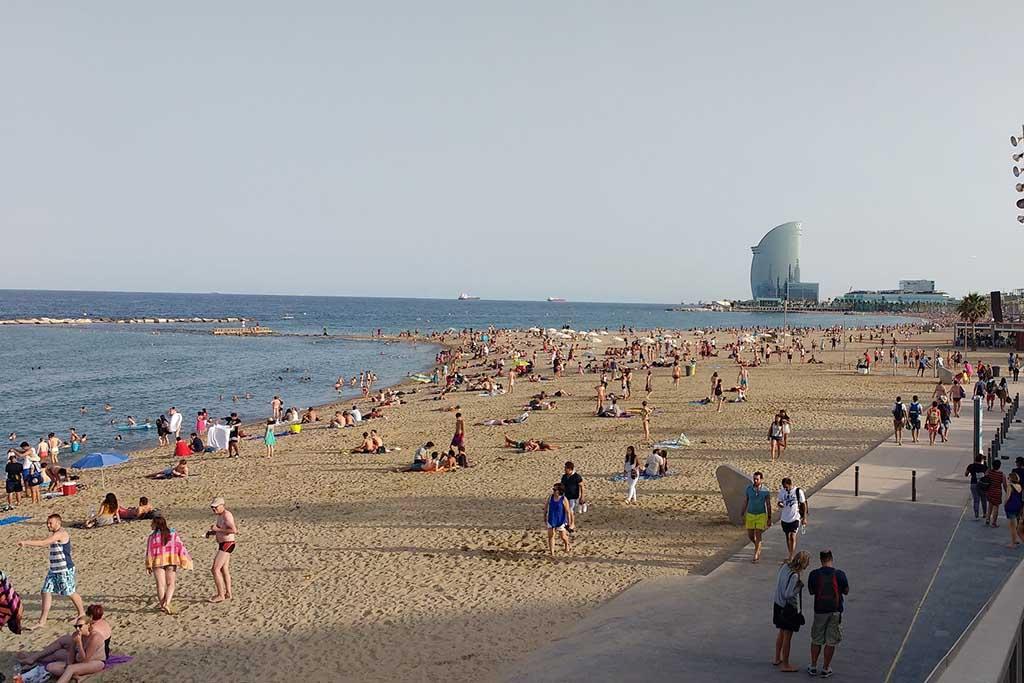 Барселона летом