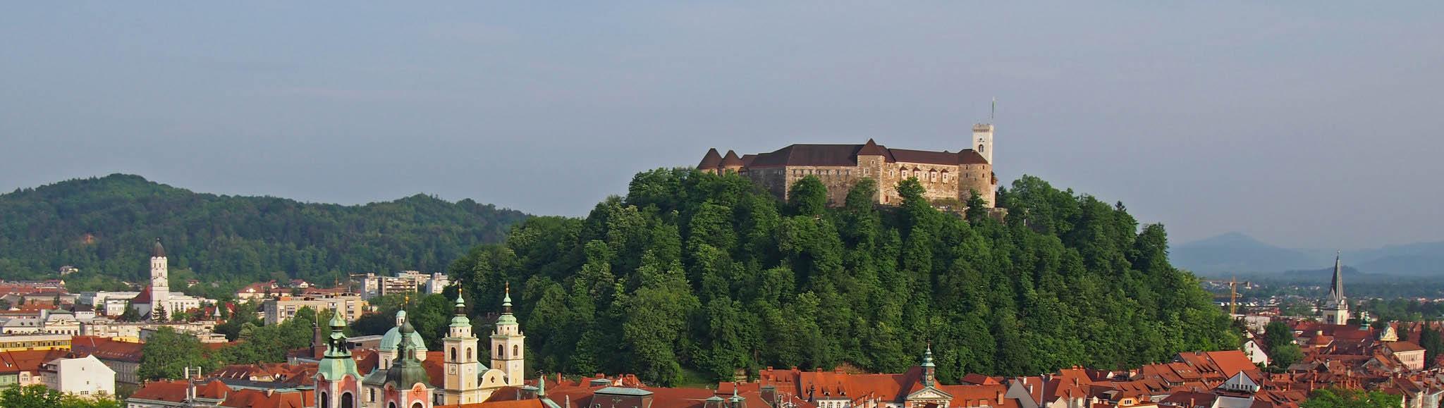 Любляна — Люблянский замок