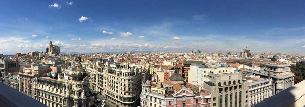 Мадрид — столица Испании