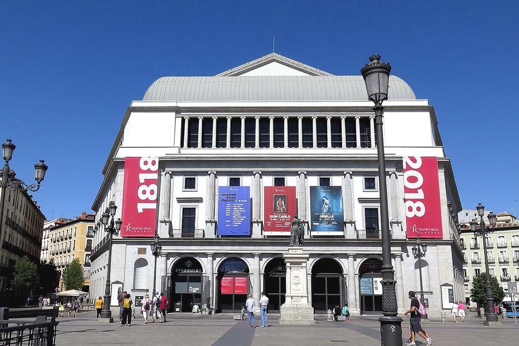 Достопримечательность Мадрида — Teatro Real