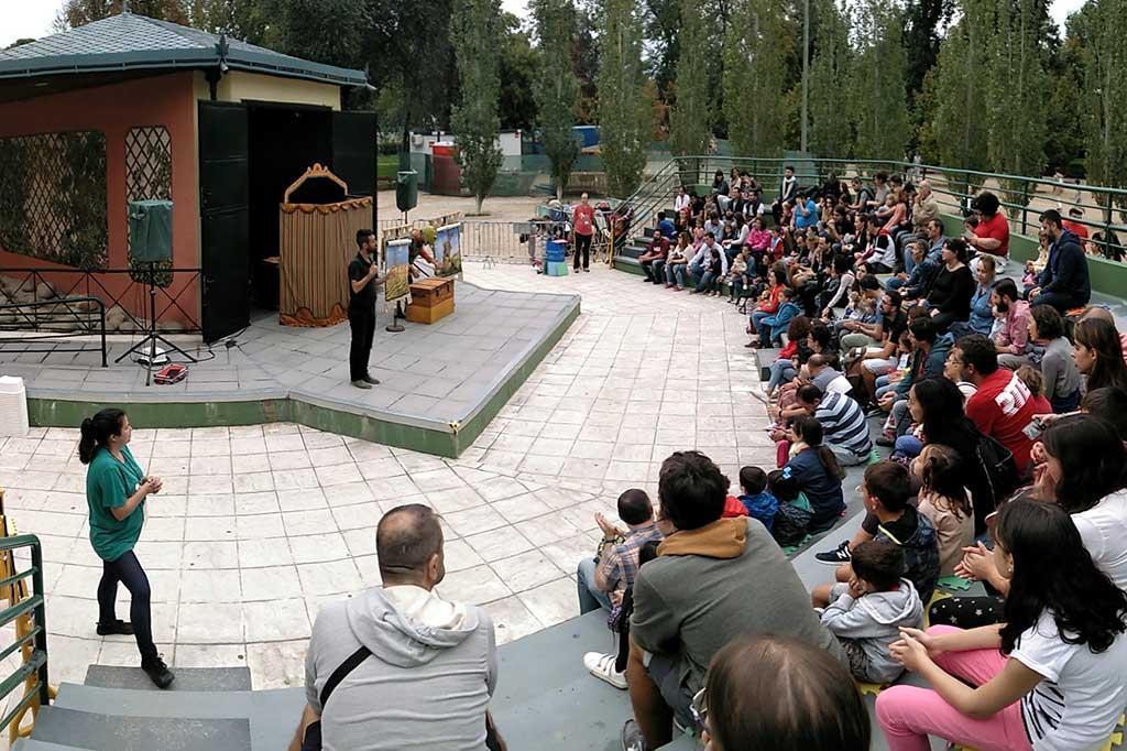 Кукольный театр парка Ретиро в Мадриде