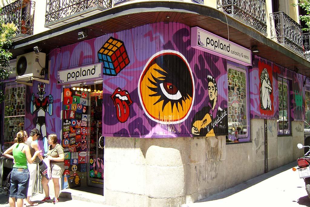 Мадрид, сувениры в ретро-стиле