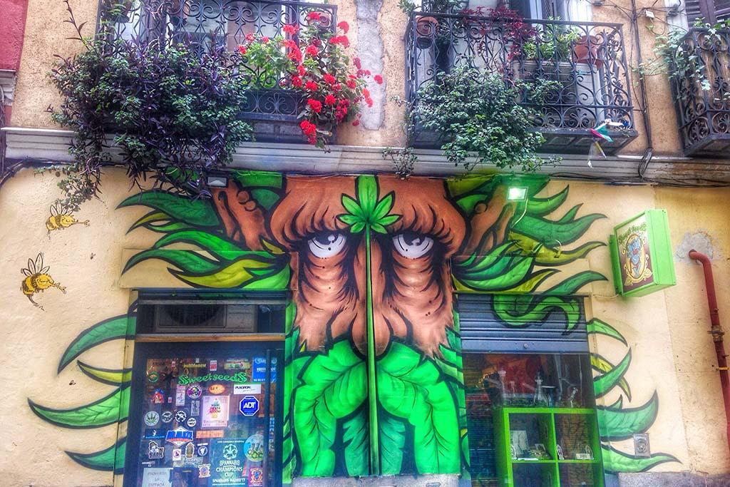 Мадрид, районы города