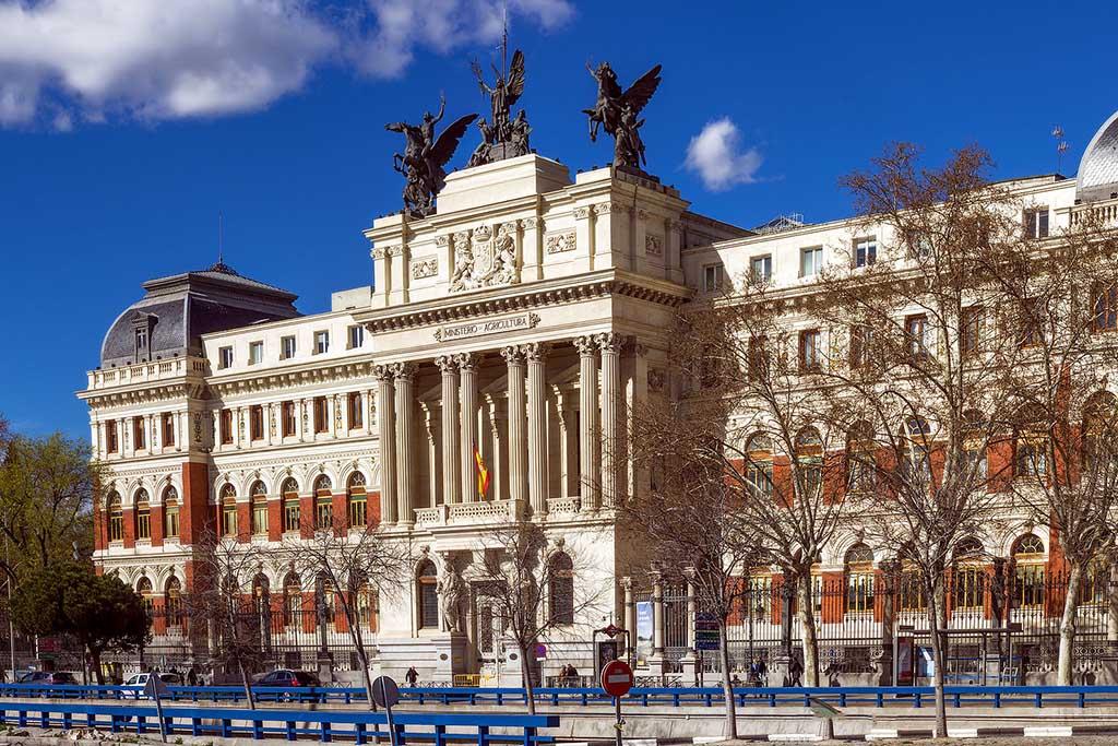 Мадрид, март