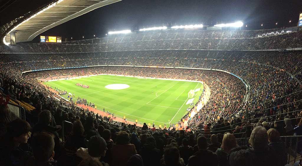 Стадион Camp Nou, Барселона