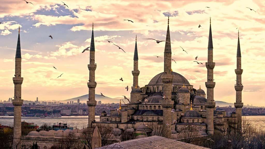 Мечеть Сулеймание, фото, Стамбул